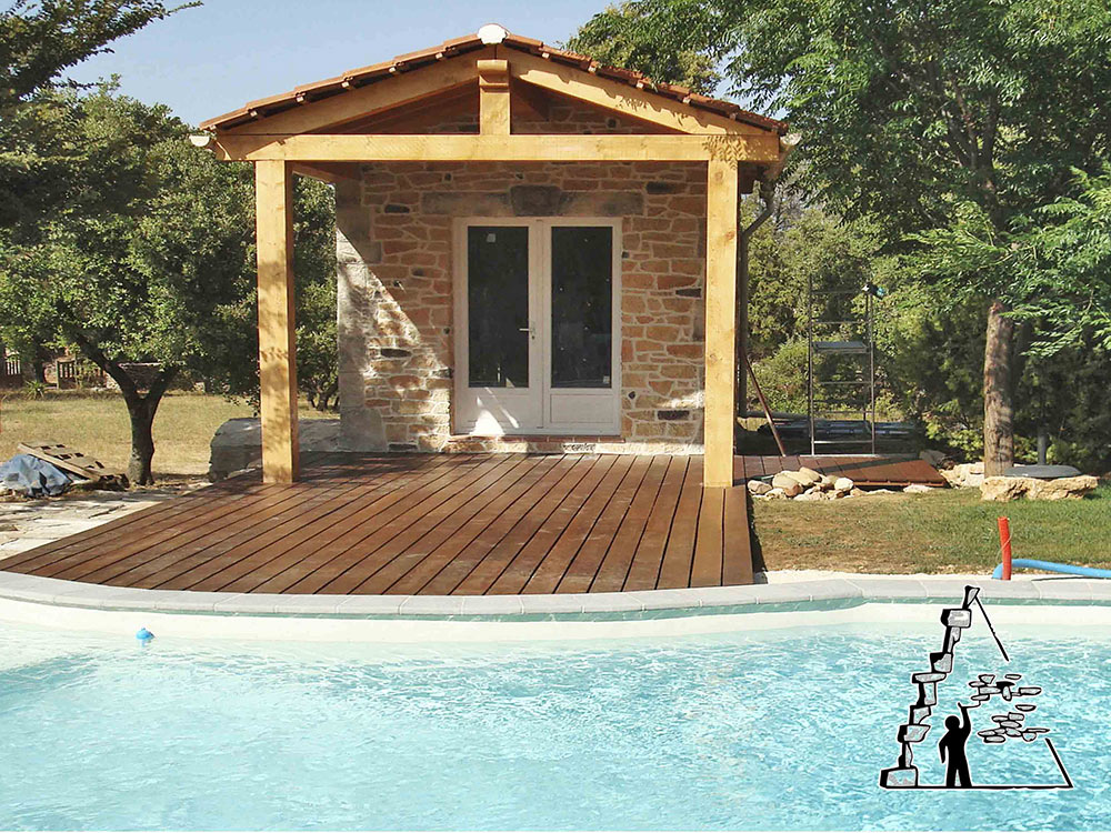 Remarkable Pool house - Bese sur Issole 1000 x 750 · 267 kB · jpeg