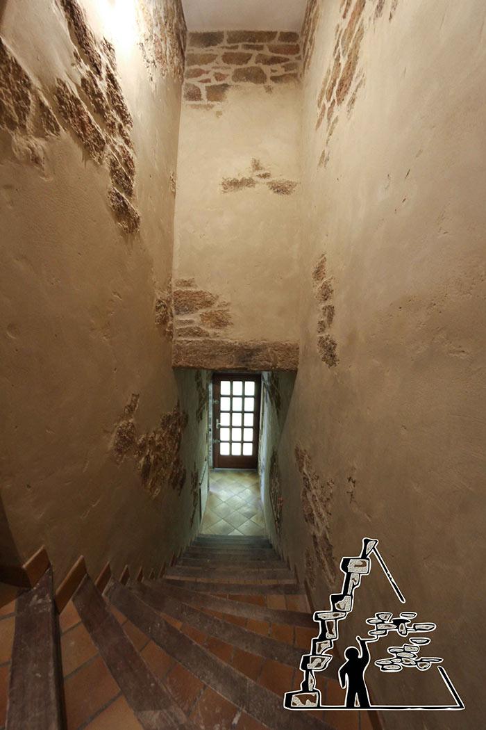 Gs cr ations nos r alisations en int rieur for Descente d escalier interieur