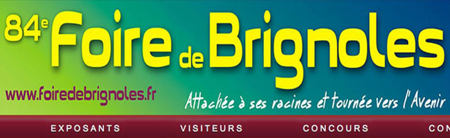 Foire de Brignoles 2013