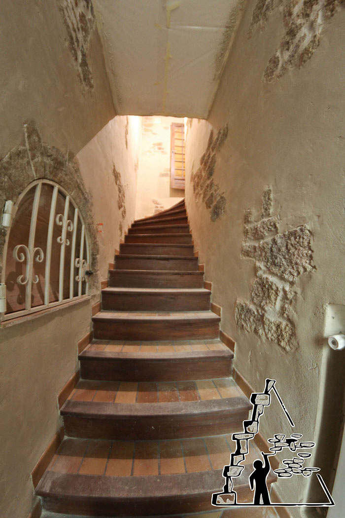 Decoration montee d escalier id es de for Deco montee d escalier